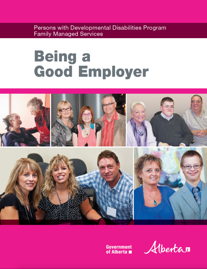 cover page of 'being a good employer'