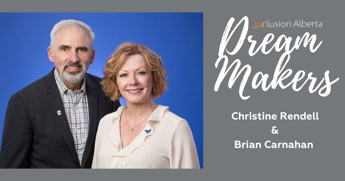 Dream Makers Christine Rendell and Brian Carnahan